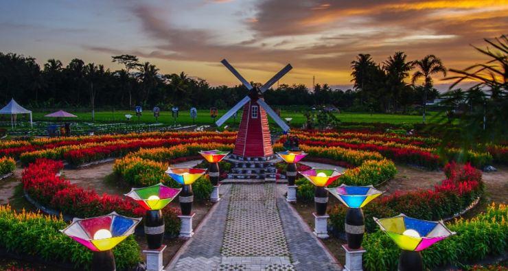 Taman Bunga Celosia Ramadanu