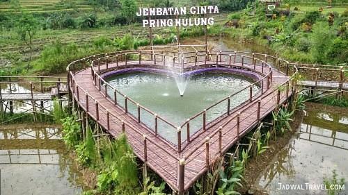 [CoC Regional: Lokasi Wisata] Mengabadikan Moment di Jembatan Cinta Pring Luwung