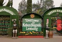 Harga Tiket Masuk Taman Begonia Bandung