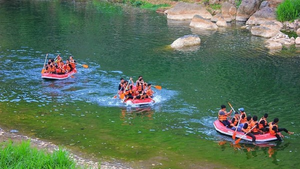 Selopamioro Adventure Park Sensasi Wisata Air Jogja