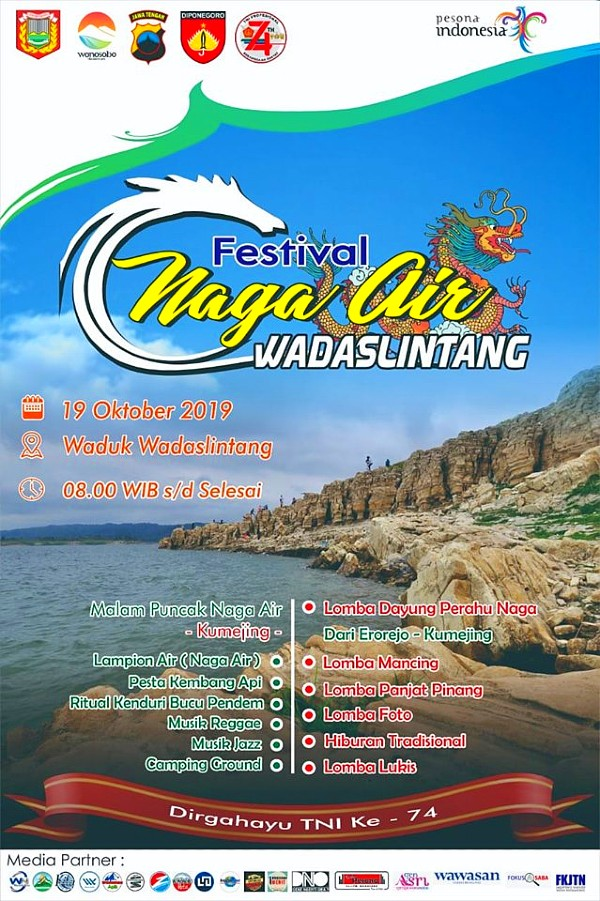 Festival Naga Air Wadaslintang 2019
