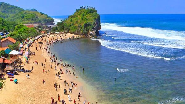 Tiket Masuk Pantai Indrayanti Jogja Jadwaltravel Com